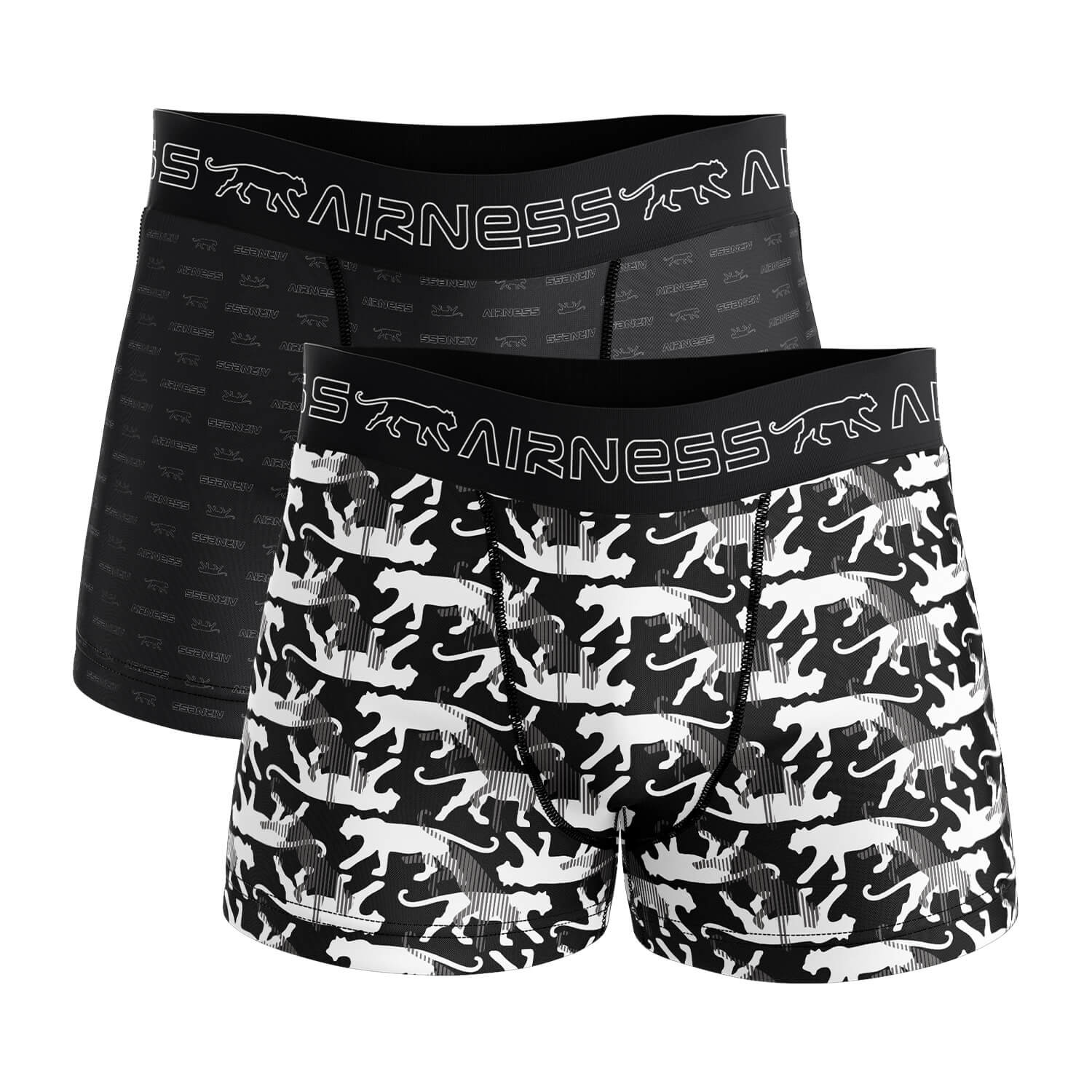2 BOXERS HOMME AIRNESS ALL OVER