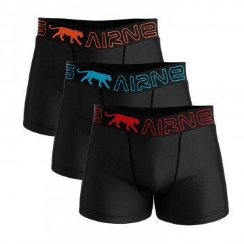 LOT DE 3 BOXERS HOMME AIRNESS CASCADE BASIC