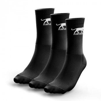 LOT DE 3 PAIRES DE CHAUSSETTES HOMME AIRNESS TENNIS CORPORATE