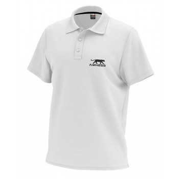 POLO HOMME AIRNESS TRIBUNE BLANC