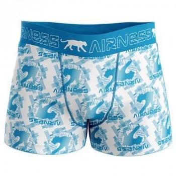BOXER HOMME AIRNESS BLUE DESIGN